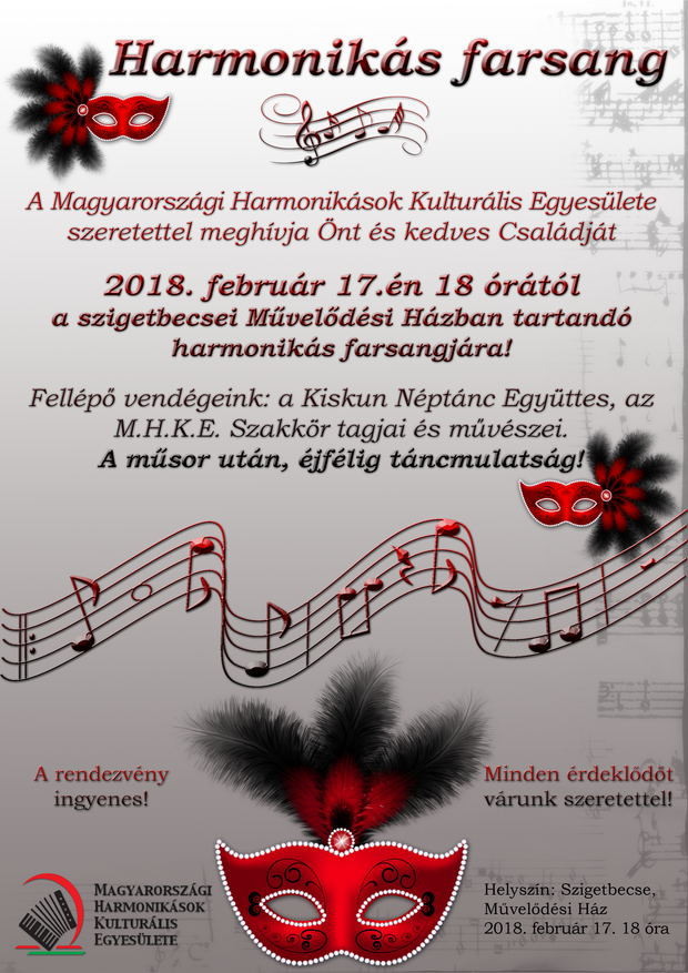 Harmonikás Farsang 2018